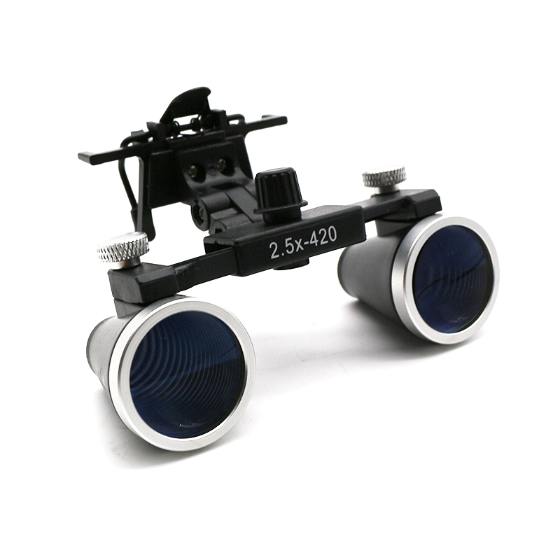 Image 2 - Dental Loupes 2.5X 3.5X Magnification Galilean Binocular Medical Magnifier Dentistry Surgical Optical Glass Lens  Dentist-in Magnifiers from Tools