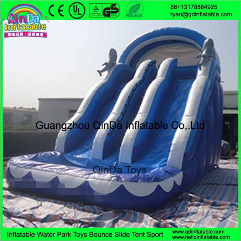 1 inflatable water slides with pool for kids38