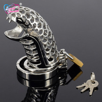 Sweet Dream Dragon 38 41 44 47 50mm Stainless Steel Penis Ring Chastity Device Cock Cage