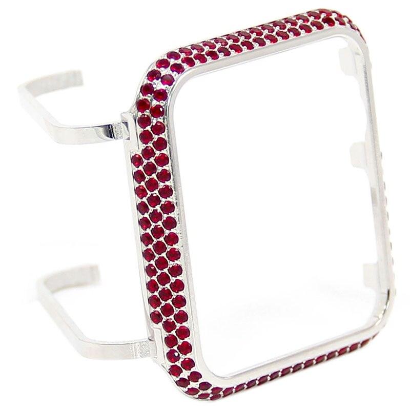 Cas pour apple diamant 3.0 En Gros couverture pour apple Montre diamant cas
