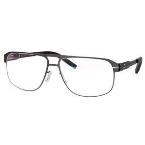Image 3 - Spectacles Unique No screw Design Brand Frame for Male Optical Eyeglasses Spectacles Prescription Big Size Eyewear