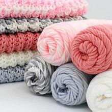100 г плотная шерсть-ровинг шарф вязаная шерстяная пряжа Толстая теплая шапка домашняя вязаная пряжа Lana Вязание хлопчатобумажная пряжа Lanas Wol Wolle