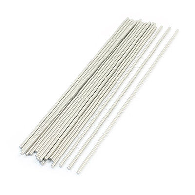 20PCS Stainless Steel 140mm Long 2mm Dia Round Rod Shafts for RC Model image