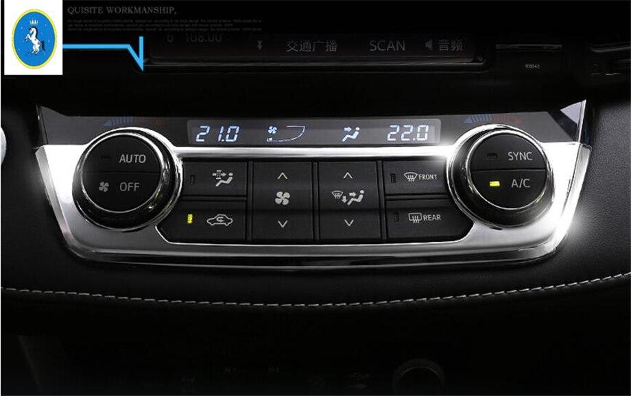 For Mitsubishi RVR Outlander Sport  2010-2016 Air Conditioner Switch Cover Trim