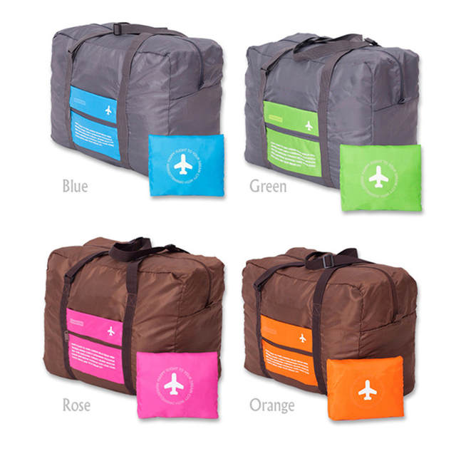 Women Foldable Travel Bag Lightweight Luggage Portable Duffle Bags For Large Capacity Duffel