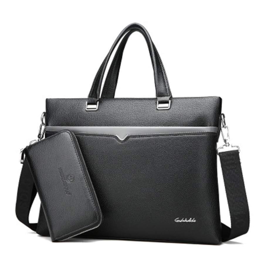 Ipad Casual Laptop Briefcase Business Man Bag Office Business Computer Bag Handbag bolsa executiva masculina Bag For Men 50GW02(China)