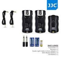 JJC Sans Fil Déclencheur Flash Télécommande pour Canon pour Nikon pour Pentax pour Fujifilm Off-appareil photo Flash Studio Lumières