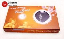 Qingmos подвеска клетка для ключей в форме сердца жемчужное