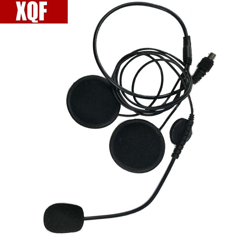 2 Pin Finger PTT Headset Motorcycle Helmet Microphone For Motorola GP Series GP68 CP SP CT PRO P XTN CLS Spirit M Series Radio