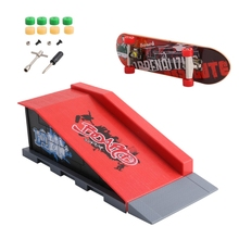 Type B New Skate Park Ramp Parts for Fingerboard Finger Skateboards Ultimate Parks Mini Board