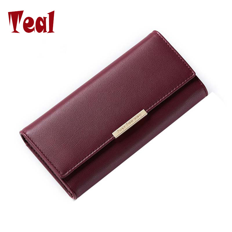 Women Purse For Ladies Women's Wallets pu Leather Long Wallet High Quality Purse Large Capacity Female Luxury Clutch Fresh Purse large capacity clutch purse female card bags new women long star wallet fashion banquet zipper pu leather wallets