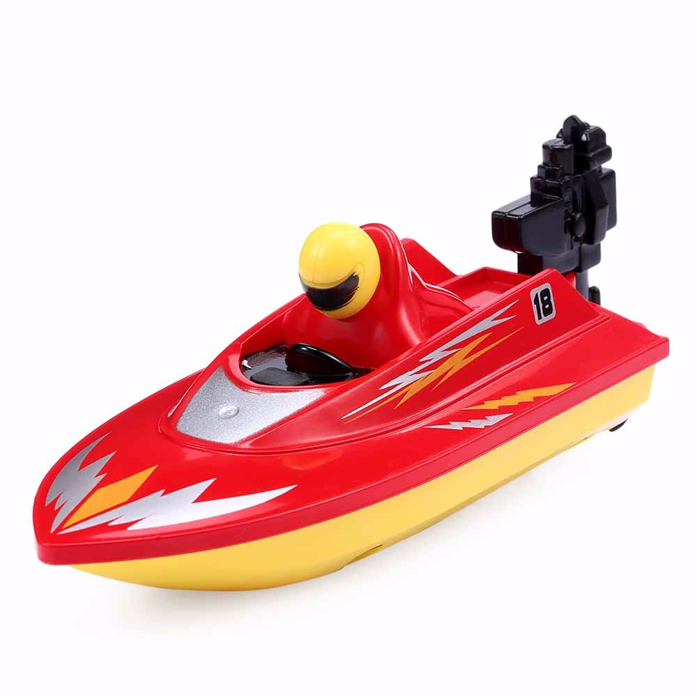 New RC Boat Outdoor Children Toys Radio Control RC 2 Channels Waterproof Mini Electric Boats Speed Boat Airship HUANQI 958A (4)