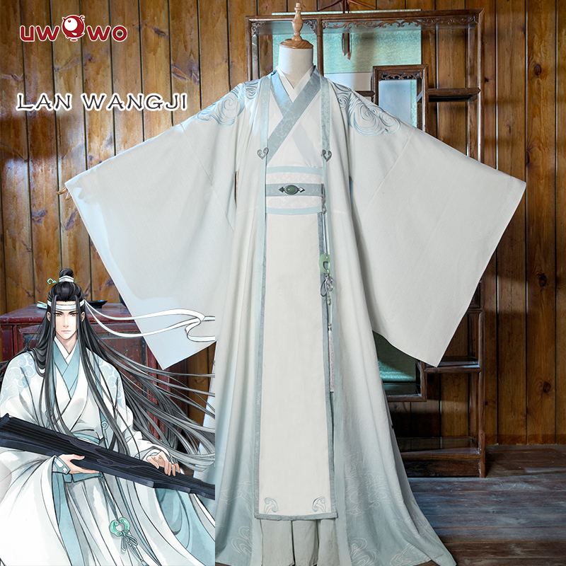 UWOWO Lan Wangji Cosplay  Grandmaster Of Demonic Cultivation Cosplay Costume Lan Wangji Adult Ver. Costume Mo Dao Zu Shi