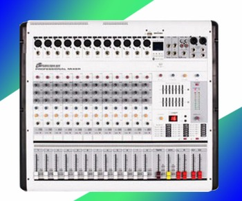 Professional 12 road with amplifier, tuning, NTU power, Bluetooth effect, stage wedding performance machine