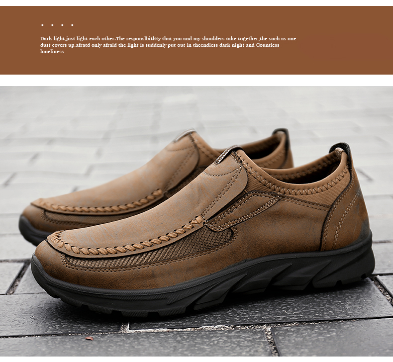 HTB1M.ESaf1H3KVjSZFHq6zKppXaA Men Casual Shoes Loafers Sneakers 2019 New Fashion Handmade Retro Leisure Loafers Shoes Zapatos Casuales Hombres Men Shoes