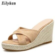 Eilyken Summer Gladiator Wedges high heels slippers Women Casual Platform