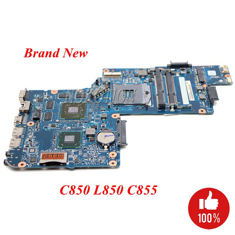 NOKOTION Brand New H000052580 Main board For Toshiba Satellite C850 L850 c855 15.6 screen laptop motherboard ATI 7670m DDR3-in Motherboards from Computer & Office    1