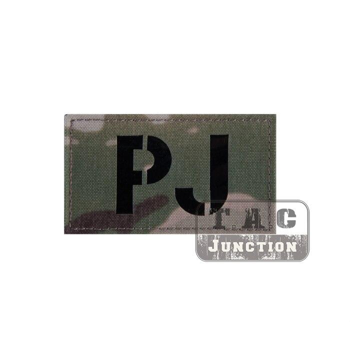 Taktische Pararescue Jumper PJ Kampf ID Patch Militär Signal Fähigkeiten Armbinde Abzeichen für BDU Tuch Rucksack Kappe Multicam MC auf title=