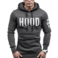 Men Warm Hoodie Slim Hooded Coat Sweatshirt Long Sleeve Bomber Tracksuit Tops Winter Male Outwear Pullover Homme Clothing