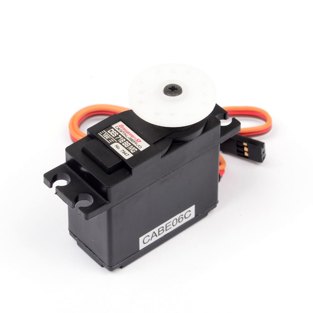 Graupner DES 718 BBMG 19.5mm Digital Servo For RC Robot Airplane Helicopter Car Boat Free Shipping graupner des 488 bbmg speed 11 5mm digital servo for futaba jr car rc model helicopter boat free shipping