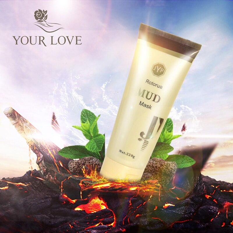 100% NewZealand JYP Hohe Qualität Tiefe Reinigung Schlamm Maske Ziehen Verunreinigungen Entfernen abgestorbene haut zellen Machen die Haut Fühlen Sauber erfrischt