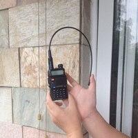 Talkie walkie baofeng 8 w version dual band portable radio maritime 8hx + na-771 sma-f vhf/uhf pour baofeng uv-5r talkie walkie antenne