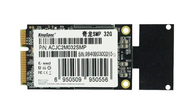 Sata mini pcie ssd de 32 gb kingspec disco (ACJC2M032SMP) unidades de estado sólido fit for asus eee pc 900 900a s101, envío Gratis