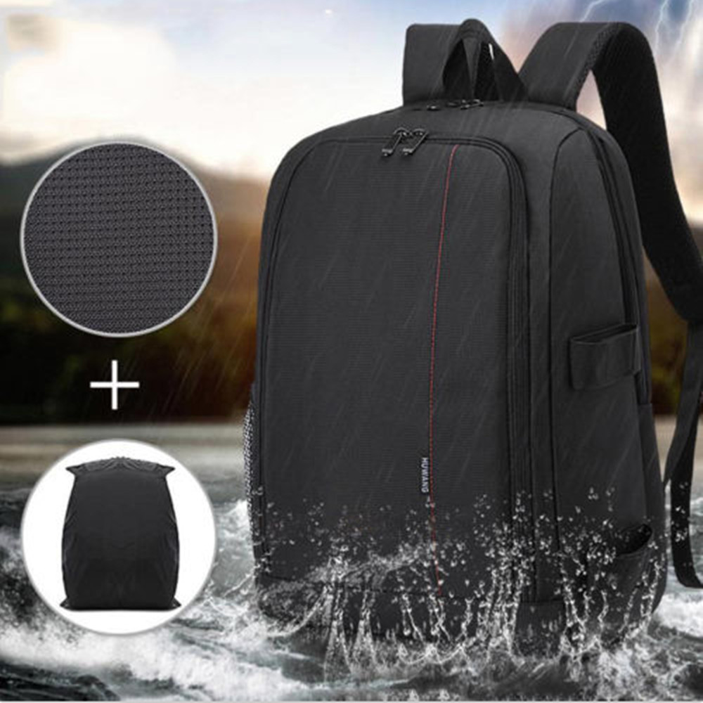 New Polyester Material Outdoor Camera Backpack SLR Camera Case Coloful Waterproof Multi-functional Digital DSLR Camera Video Bag