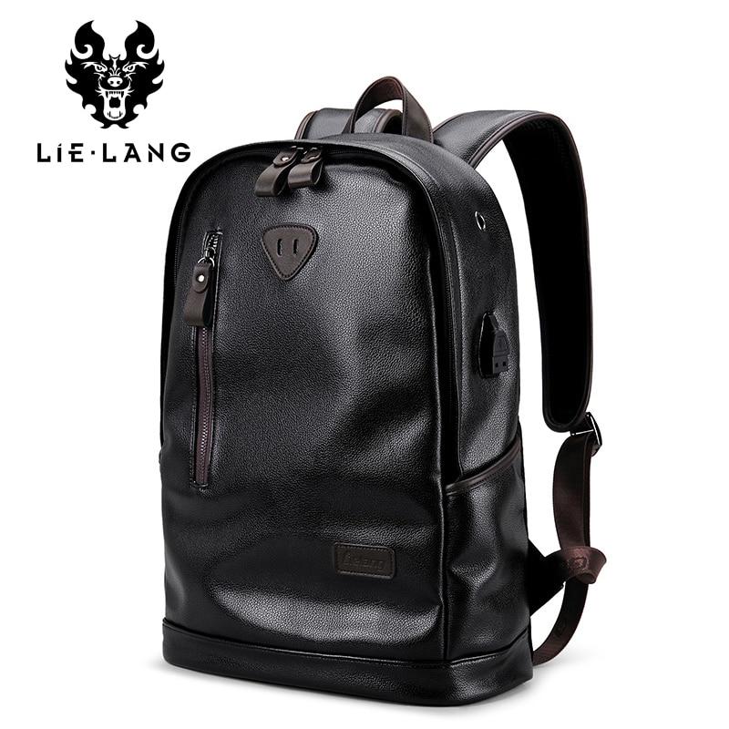 LIELANG Waterproof Backpack School-Bags Mochila Masculina Teenager Multifunction Fashion