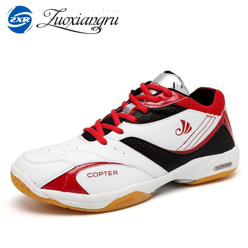 2017 New Professional Rubber Badminton Shoes For Men And Women Super Light Sports Sneakers