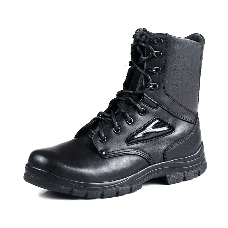 ФОТО 2017 Special Series Combat Men Boots Leather Boots Wear Outdoor Boots Authentic Men Boots