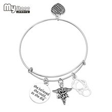 buy medical assistant and get free shipping on aliexpress Medical Letters of New Programs my shape medical assistant caduceus stainless steel
