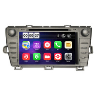 Free Shipping Two Din 8 Inch Car DVD Player For Toyota Prius 2009 2010 2011 2012 2013 GPS Navigation Radio WIFI BT