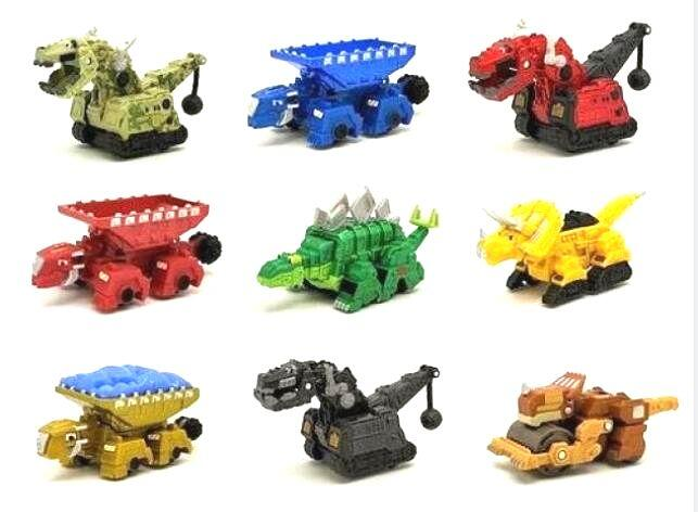 Models Toys Dinotrux Mini Toy-Car Removable Truck Children's New