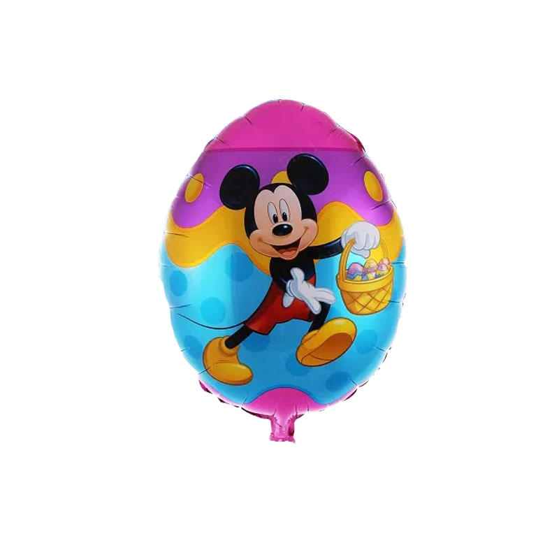 Cartoon egg mickey minnie foil balloons helium balloon globos classic toys inflatable birthday balloons air balls party supplies