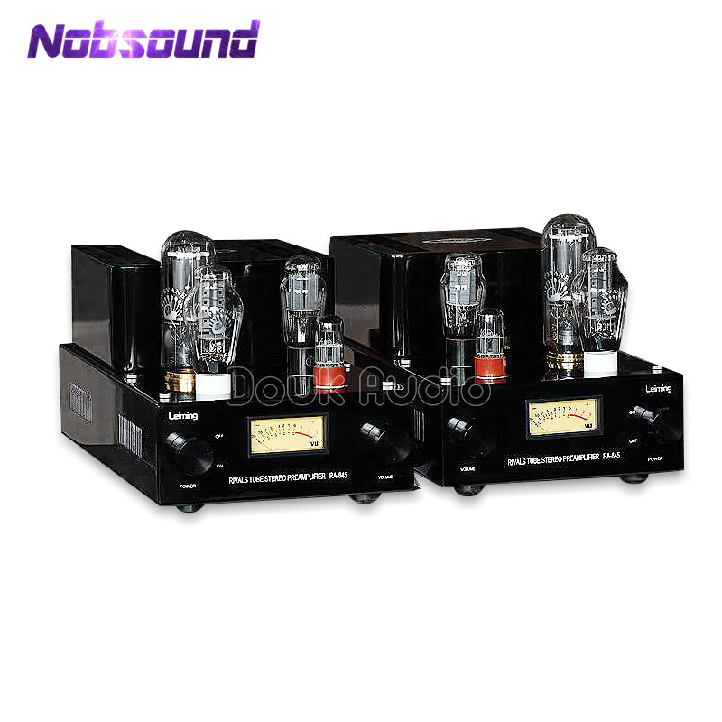 Nobsound Hi-end 300B Push 845 Handmade Tube Amplifier Class A Split SRPP Hi-Fi Stereo Amp Large Power 60W hi end 300b valve