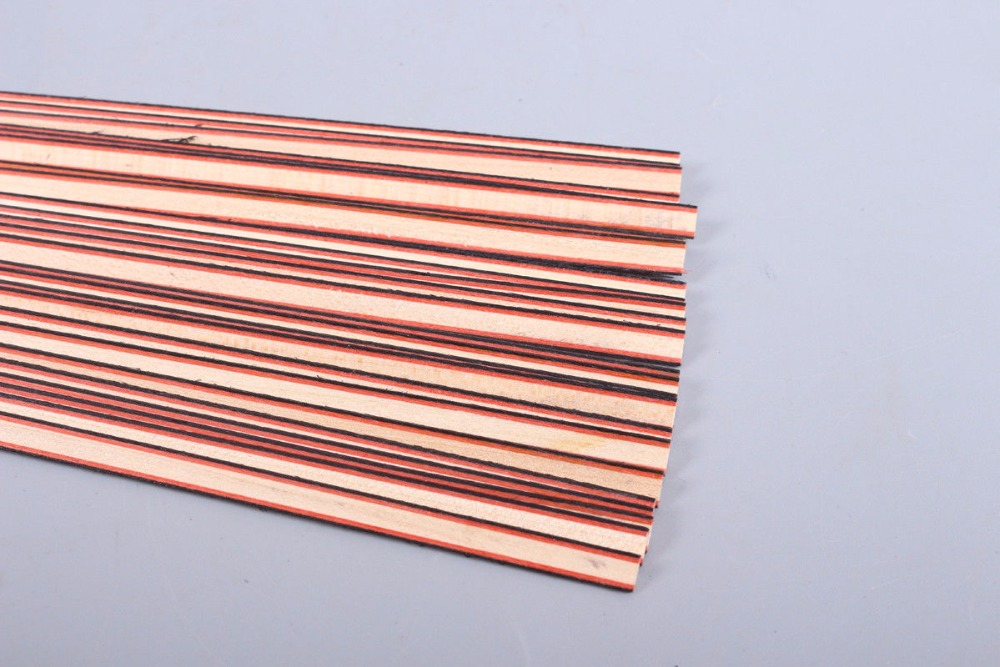New 25 Strip Luthier Purfling Binding Marquetry Inlay 640x6x1.2mm #168 new luthier tool electric violin purfling groove cutter q1