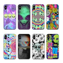 Aiboduo aesthetics Cute alien space Soft silicone cover Case for iphone XS XR XSMAX 7 7plus 8 8plus 5 5s 6 6plus coque