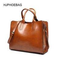 HJPHOEBAG bolsos de cuero de lujo Bolsos De Mujer bolso de mano grande de señora bolso de hombro de Pu de mujer bolso de mensajero bolsa femenina YC001