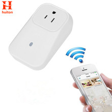 Wireless Wifi Socket App Remote Control with Timer function EU US UK mini wifi socket plug wireless Controls for iphone Android