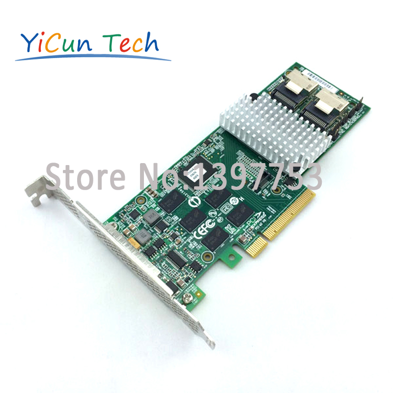 New LSI00212 MegaRAID 9261 8i SGL 6Gb s 8 Port PCI Express SATA SAS RAID Controller