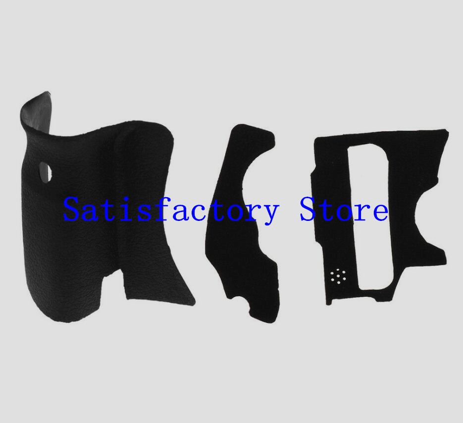 NEW A Set Of 3 Pieces Grip Rubber Cover Unit For Canon FOR EOS 60D DSLR Digital Camera Body Rubber Shell