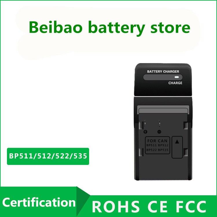 Cargador de batería de alimentación para Canon EOS 40d 50d 60d cb-5l bp-511 bp-512 bp-511a