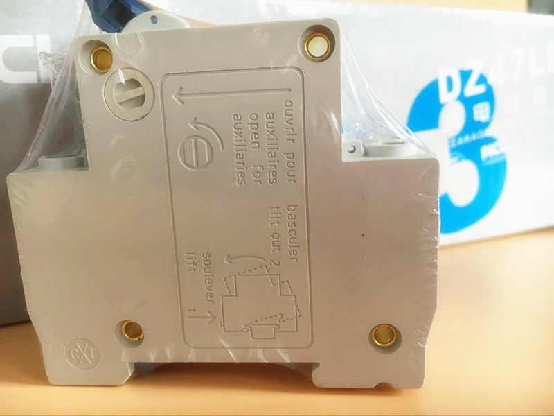 DZ47 2 P 50A 400 V ~ 50 HZ/60 HZ PRZERYWACZ AC MCB bezpieczeństwa wyłącznik typu C