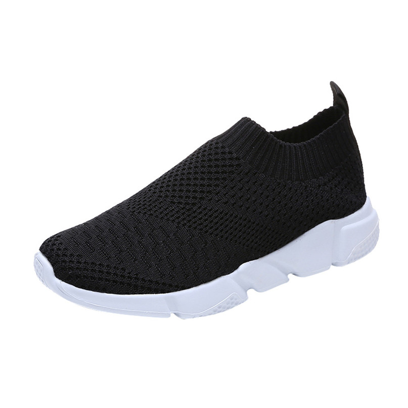 2018 New Outdoors adults trainers Running Shoes woman sock footwear sport athletic unisex breathable Mesh female Sneakers #2a (2)