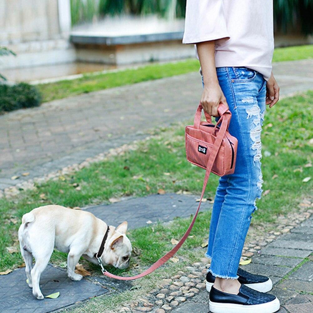 Поводок Сумка обучение сумка собака удовольствие выгула собак поводок свободные руки Дозатор Мешок Корма и ПЭТ отходов владельца несет тел...