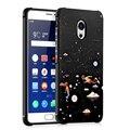 Телефон Случаях Для Meizu Pro 6 Plus Мультфильм Рельеф Живопись Silicon Case Для Meizu Pro 6 Plus Мобильный Телефон Обратно крышка