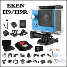 EKEN H9/H9R WiFi Remoto HD Cámara de La Acción 4 K 1080 P/60fps 2.0 LCD 170D Casco Lente Cam Cámara ir A Prueba de agua pro Deportiva