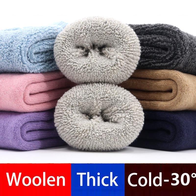 Thermal Floor Children Socks 0-7T Real Woolen Thick Toddler Baby Boys Socks Winter Soft Warm Girls Socks WZ04