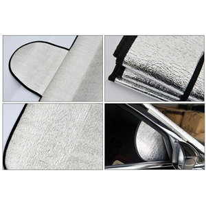 Image 5 - Car Sun Shade Auto Curtain  Windshield Snow Cover Ice Removal Wiper Visor Protector All Weather Winter Summer Sunshade Car